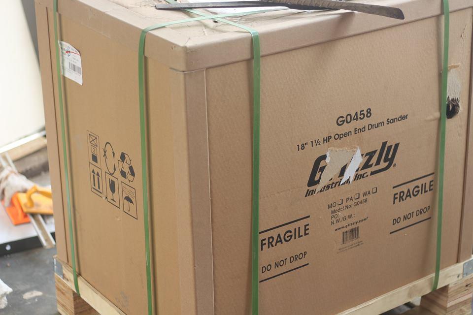 Máy chà nhám thùng Grizzly G0458Z( Nototec 21106)