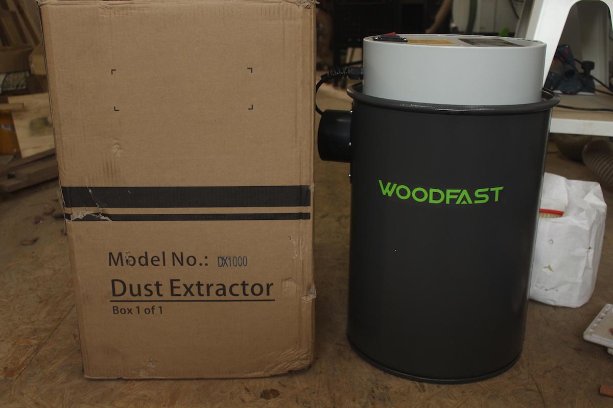 Máy hút bụi Woodfast DX1000 (Record Power DX1000)